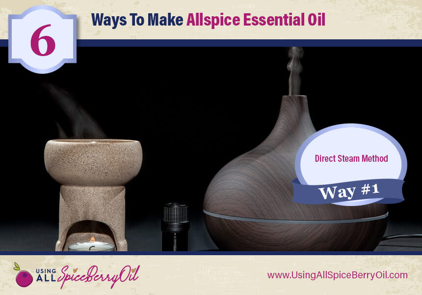 how is allspice oil made