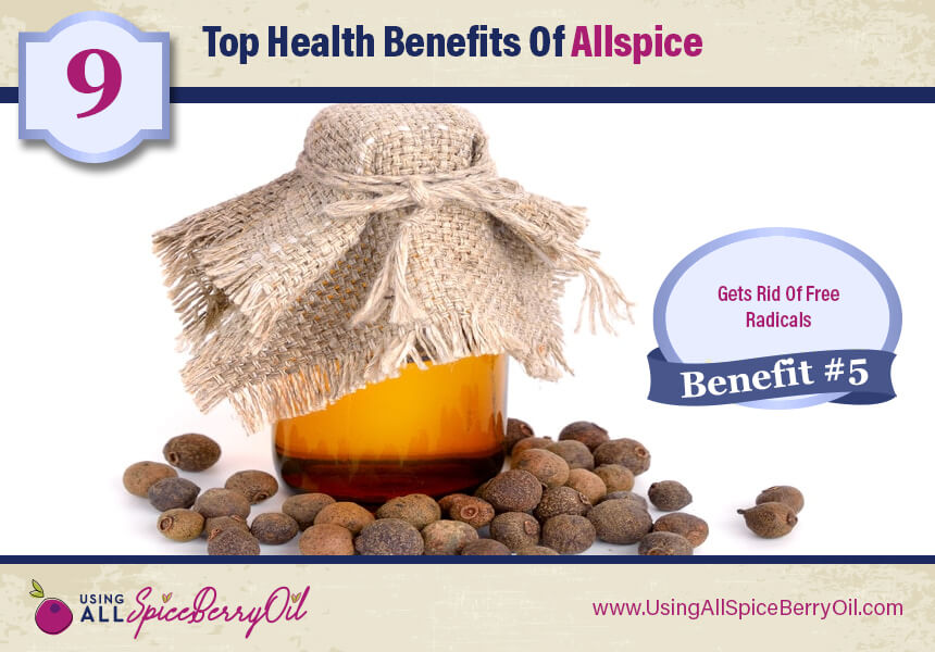 allspice benefits skin